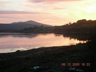 House for sale in West Cork - Sunset in the winter by Shancarrig