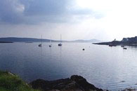 House for sale in West Cork - view over Dunmanus Bay from the nearby village of Ahakista